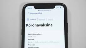 Mener korona-sertifikatet diskriminerer eldre