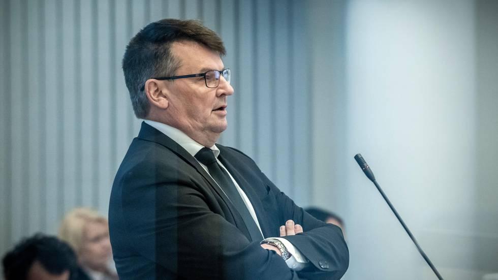 Bildet viser Tor Mikkel Wara.