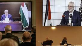 Palestinske ledere er enige om valg