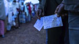 Valget splitter Etiopia