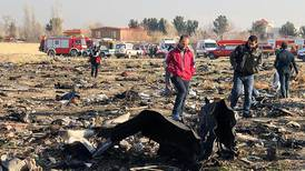 Fly med 170 personer styrtet i Iran