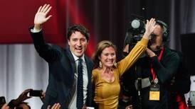 Trudeau seiret så vidt