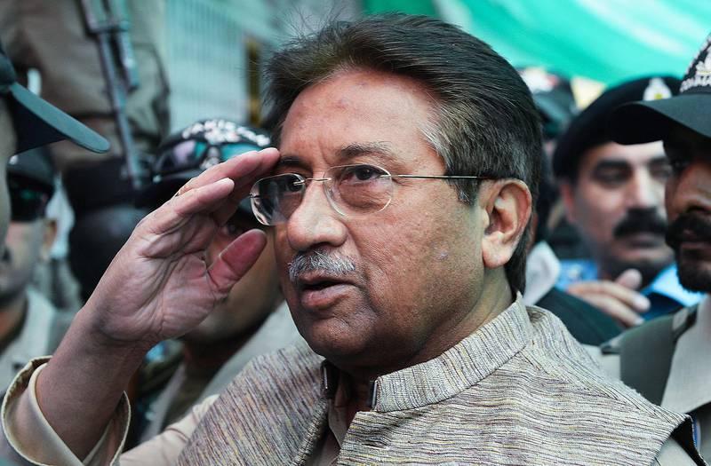 Bildet viser Pervez Musharraf.