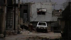 Kraftige kamper i syrisk by