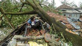 Syklonen ødela alt