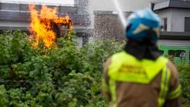Lynet startet brannene i Sandefjord