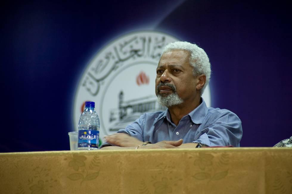 Bildet viser Abdulrazak Gurnah.