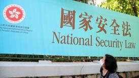Ny lov om sikkerhet i Hongkong
