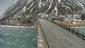 Hardt uvær i Nord-Norge