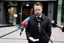 Pressekonferanse om drapet