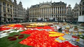 En halv million blomster