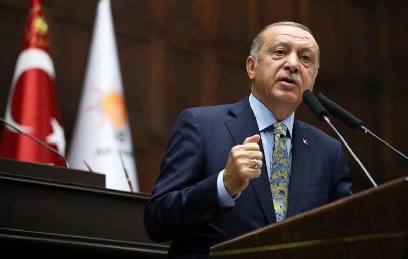 Bildet viser Recep Tayyip Erdogan.