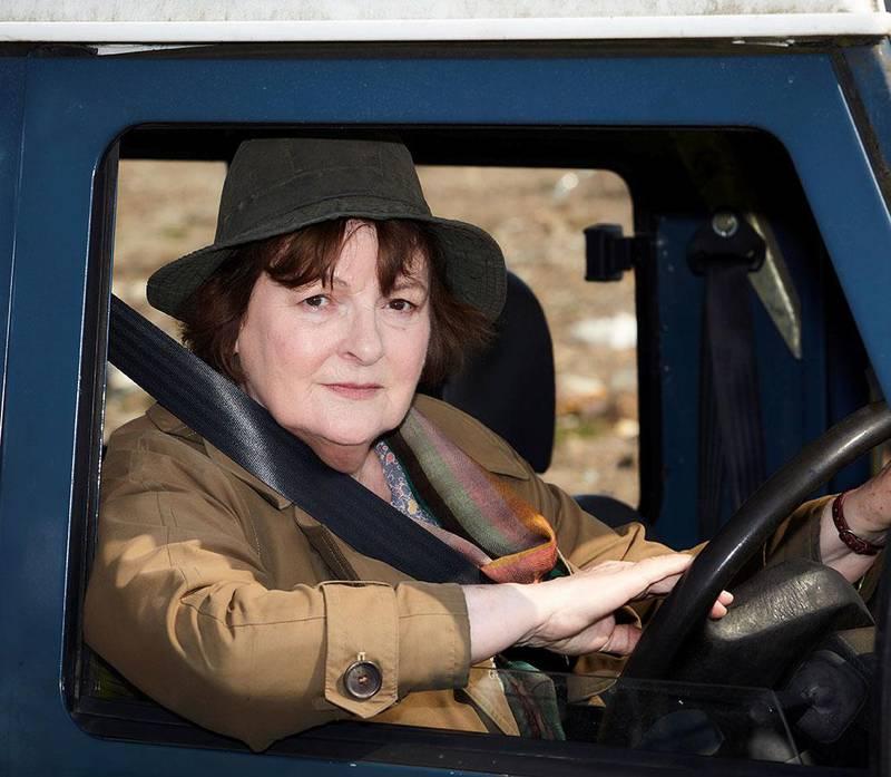 Bildet viser Brenda Blethyn. Hun spiller Vera i serien med samme navn.