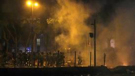 Politiet brukte tåregass mot studenter