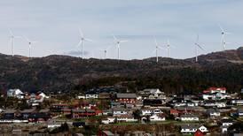 Vestland-kommuner sier nei til vindkraft