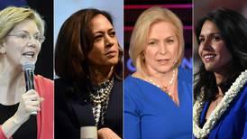Her er kvinnene som vil danke ut Trump