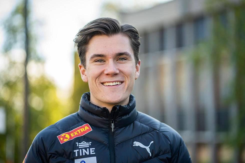 Bildet viser Jakob Ingebrigtsen. Han ønsker seg enda flere seirer.
