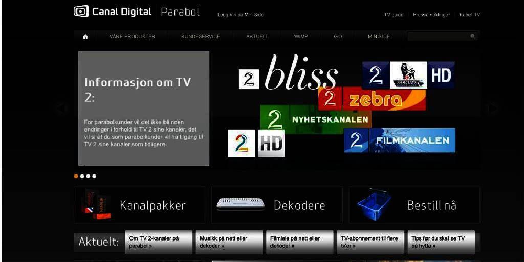 Kanaler canal digital erotiske Canal Digital