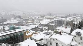 I helgen kan det snø på Østlandet