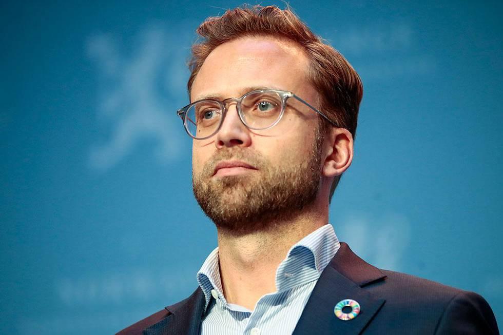 Bildet viser kommunalminister Nikolai Astrup.