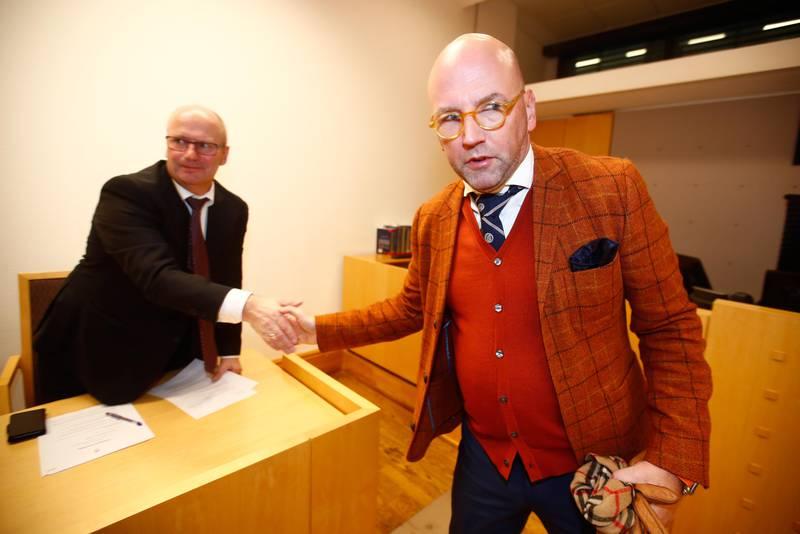 bildet viser Brynjar Meling i retten.