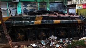 – Angrepet mot Homs fortsetter