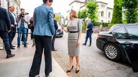 Søreide sier hun blir urolig av det Lukasjenko gjør