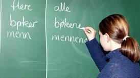 Det viktige språket