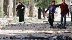 Bombingen av Aleppo er stanset