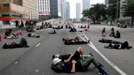 Se bilder fra protestene i Hongkong
