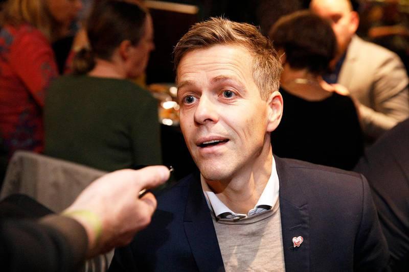 Bildet viser Knut Arild Hareide.