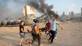 Tusenvis av skadde i Beirut