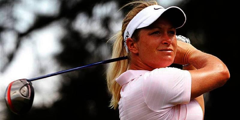 Bildet viser Suzann «Tutta» Pettersen. Hun skal spille en turnering sammen med stjernen Tiger Woods. Det er i en trunering til inntekt for gode formål i august.