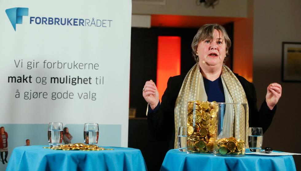 Bildet viser Elisabeth Realfsen i Forbrukerrådet.