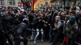 Sinte katalanere demonstrerte