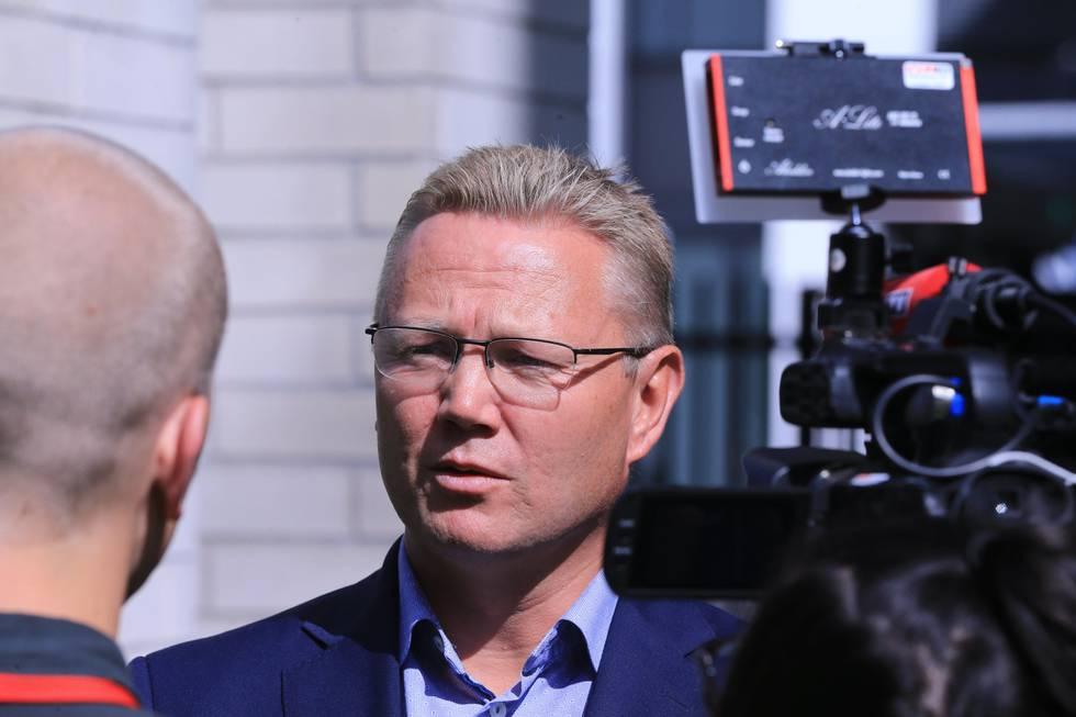 Bildet er av Arne Christian Haugstøyl.