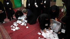 Færre stemte i Iran