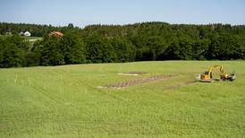 Arkeologer finner mye der vikingskip ligger