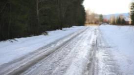 Flere veier er stengt på grunn av snø