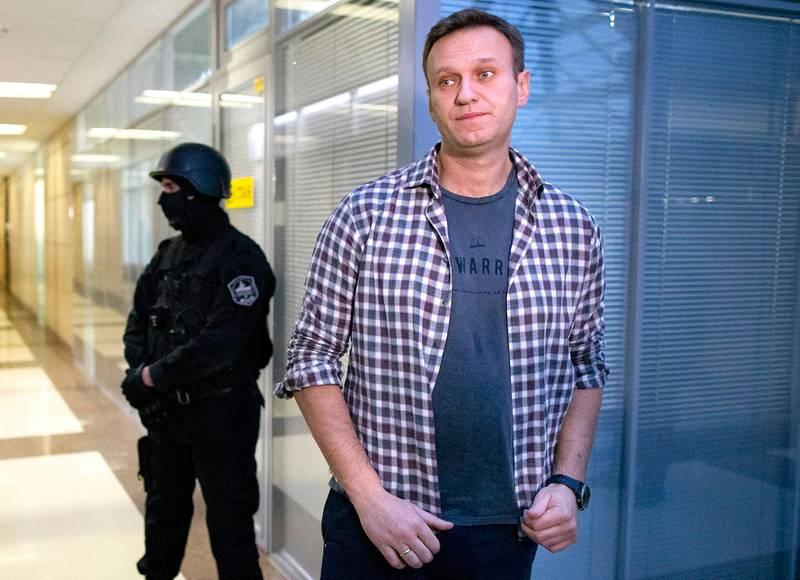 Bildet viser politiker politiker Aleksej Navalnyj.