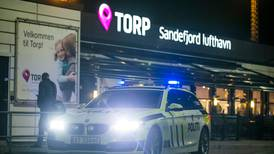 457 personer måtte snu på Torp flyplass i år