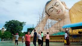 Et lite øyeblikk i Myanmar