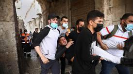 Over 300 skadd i demonstrasjoner i Jerusalem