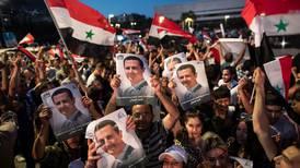Assad ble gjenvalgt i Syria