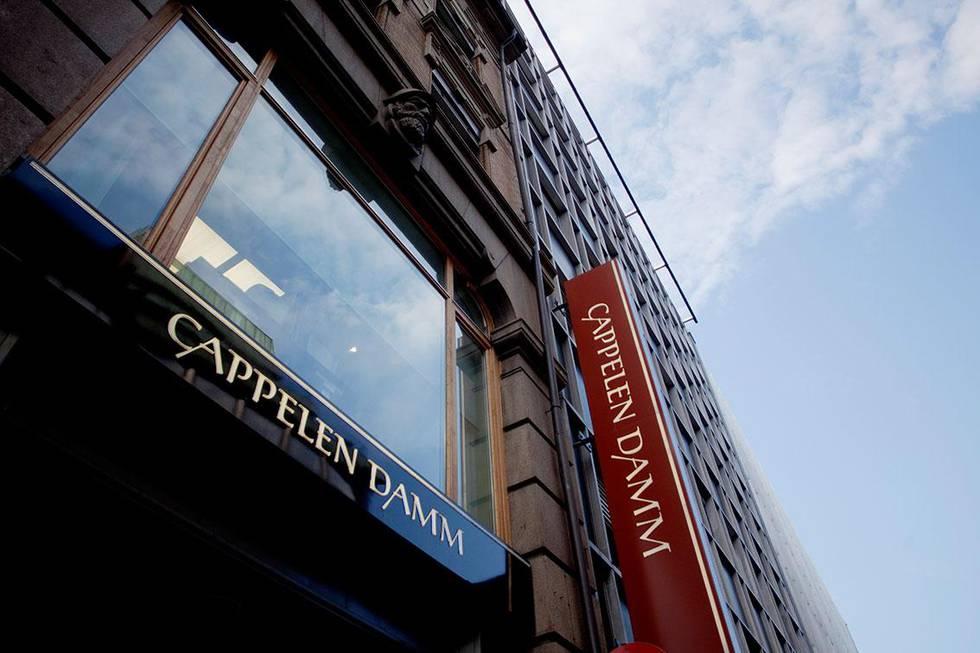 Bildet viser kontorene til forlaget Cappelen Damm. De er ett av fem selskaper som har fått varsel om bøter. Det er fra Konkurranse-tilsynet.