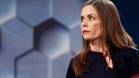 Katrin Jakobsdottir blir Islands nye statsminister