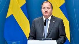 Sveriges statsminister slutter