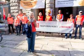 Flere streiker for pensjon til kvinner