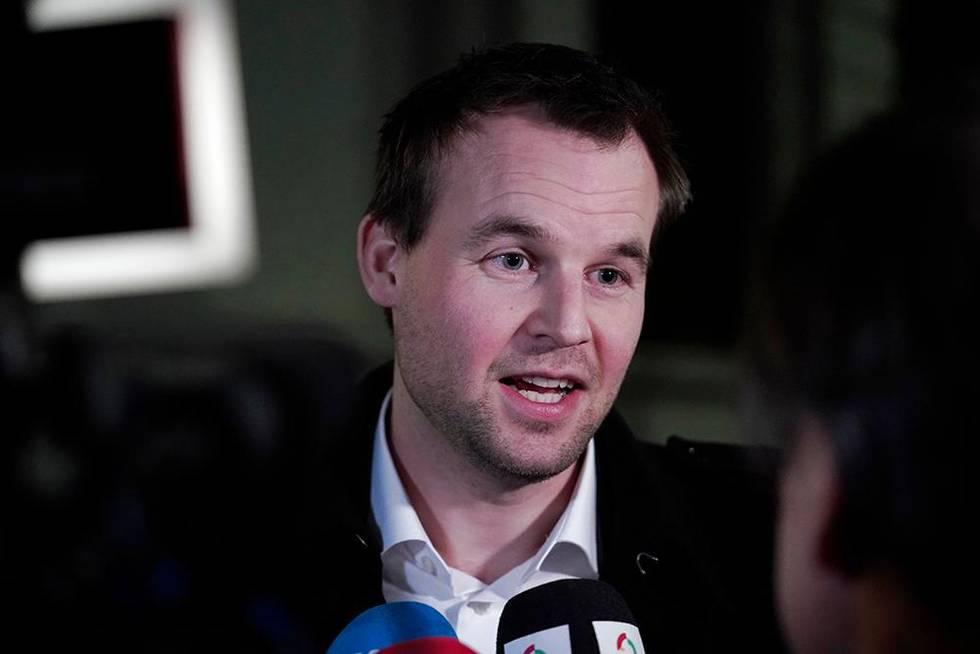 Bildet viser KrF-leder Kjell Ingolf Ropstad.