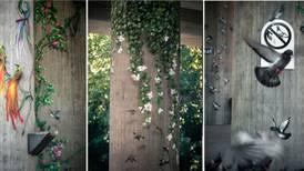 Sprayet fram jungel på fem dager